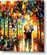 Under One Umbrella Metal Print