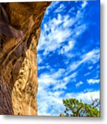 Under The Arch Metal Print