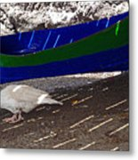 Under The Boardwalk 3 Metal Print