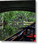 Under The Bridge Painted Metal Print