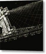 Under The Brooklyn Tower Metal Print