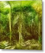Under The Canopy Of The Antediluvian Forest Metal Print