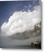 Under The Cloud Metal Print
