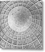 Under The Dome At The Jefferson Memorial Metal Print