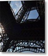 Under The Eiffel II Metal Print