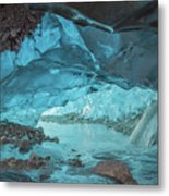Under The Glacier Metal Print