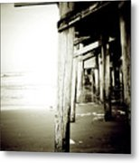 Under The Pier Extreme Metal Print