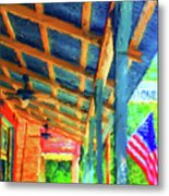 Under The Roof Metal Print