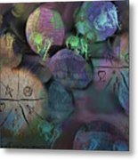 Under The Rubble Metal Print