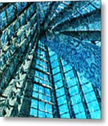 Under The Sea Dwelling Abstract Metal Print