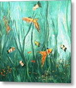 under the sea I Metal Print