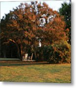 Under The Tree Metal Print