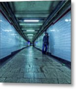 Underground Inhabitants Metal Print