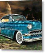 Underneath The Surrounding Glow Of The Moon .... Metal Print