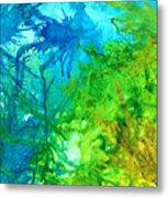 Undersea Corals Metal Print