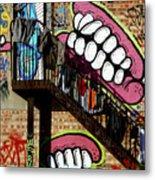 Underteeth The Stairs 2 Metal Print