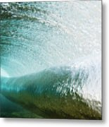 Underwater Barrel Metal Print