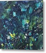 'underwater Chaos' Metal Print