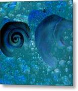 Underwater Eye Metal Print