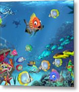 Underwater Fantasy Metal Print by Doug Kreuger