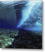 Underwater Wave - Yap Metal Print