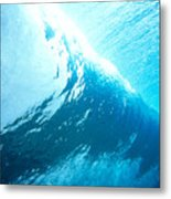 Underwater Wave Metal Print