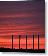 Unearthly Metal Print