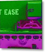 Uneasily At Ease Metal Print