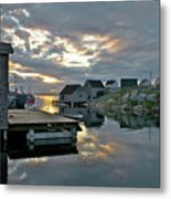 Unesco World Heritage Site - Peggy's Cove - Nova Scotia Metal Print