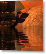Unexplored Waters Metal Print by Claude McCoy