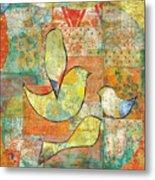 Unfinished Bird Metal Print