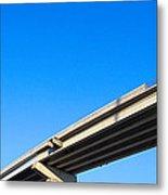 Unfinished Freeway Ramp Metal Print