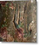 Unicorn Angel Metal Print