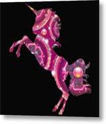Unicorn Gems Metal Print