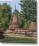 Unidentified Wat Wihan And Chedi Dthst0074 Metal Print