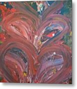 Unintended Abstract  Metal Print