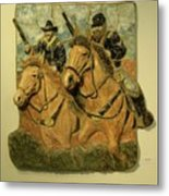 Union Cavalry Metal Print