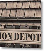 Union Depot Metal Print