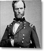 Union General William Tecumseh Sherman 1865 Metal Print