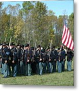 Union Infantry March Metal Print