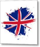 Union Jack - Flag Of The United Kingdom Metal Print