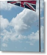 Union Jack Off Land's End Metal Print