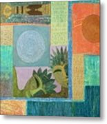 Union Of The Sun And Moon Metal Print