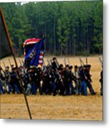 Union On The Move Metal Print