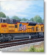 Union Pacific 8690 Metal Print by RB McGrath