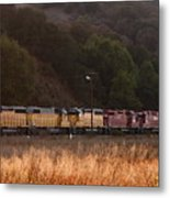 Union Pacific Locomotive Trains . 7d10551 Metal Print