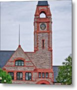 Union Pacific Railroad Depot Cheyenne Wyoming 01 Metal Print