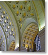 Union Station Ceiling Metal Print