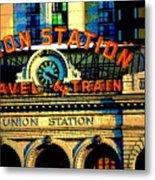 Union Station Metal Print