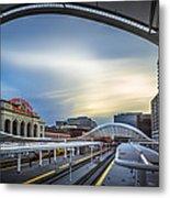 Union Station Denver - Slow Sunset Metal Print